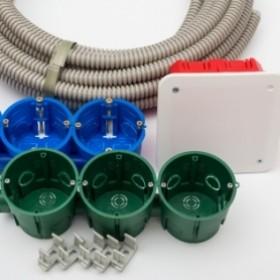 Електроустановочні та монтажні вироби