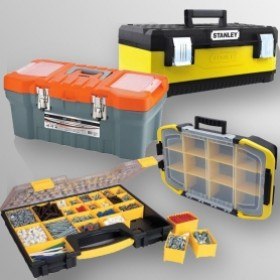 Ящики для інструментів та органайзери